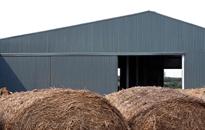 Corrigated Sheeting for Sheds